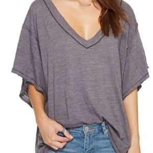 "Free People ""My Boyfriend's Tee Shirt"""
